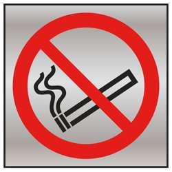 No Smoking Prestige Fire Door Sign