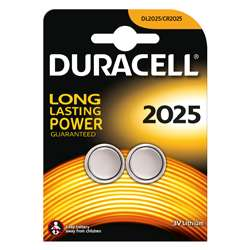 Duracell 3V Coin Lithium Battery -2 Pack
