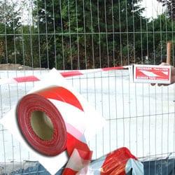 hazard barrier tape