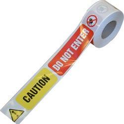 Barrier Tape - Caution Do Not Enter
