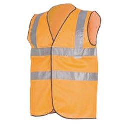 Orange hi vis waistcoat