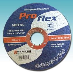 Metal Flat Centre Cutting Discs - Pro Flex