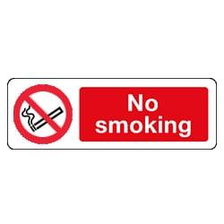General No Smoking Sign