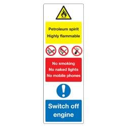 Petroleum Spirit Multi sign