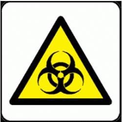 Biological Hazard Pictorial Sign