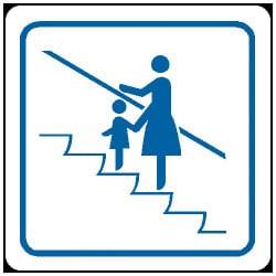 Escalator Symbol Sign