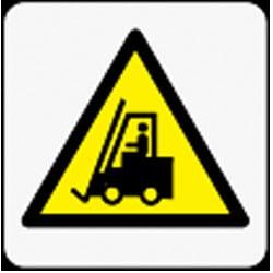 Forklift Truck Symbol Pictorial Sign