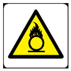 Oxidizing Pictorial Sign