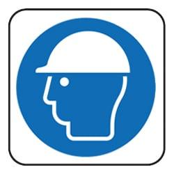 Safety Helmet Pictorial Sign