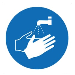 Wash Your Hands Pictorial Sign