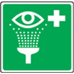 Emergency Eye Wash Pictorial Sign