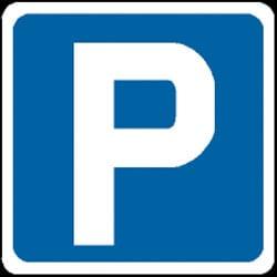 Parking Symbol Sign