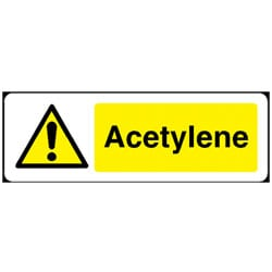 Acetylene Sign