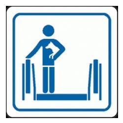 Carry Pets Escalator Symbol Sign
