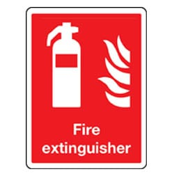 Fire Extinguisher Pictorial Sign
