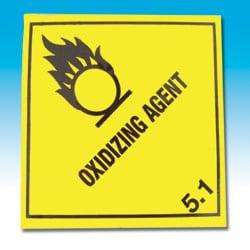 Oxidizing Agent Label