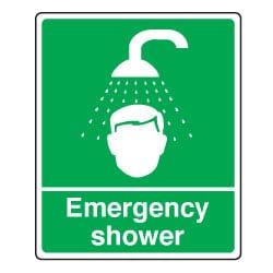 Emergency Shower Sign