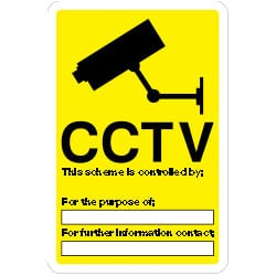 CCTV This scheme is controlled By Sign