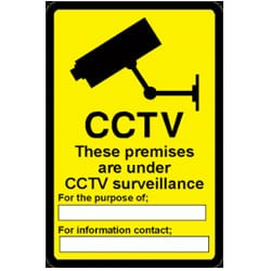CCTV These Premises Sign