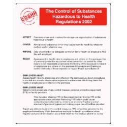 Control of Substances Hazardous to Health (COSHH) Sign