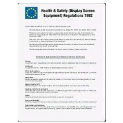 Health & Safety Regulations 1992 Sign