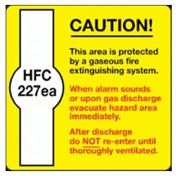 HFC 227ea Sign