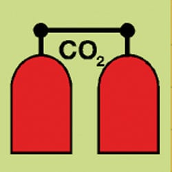 CO2 Release Station Sign