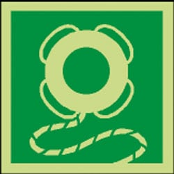 Embarkation Ladder Pictorial Sign