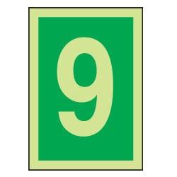 9 Luminous Number Sign