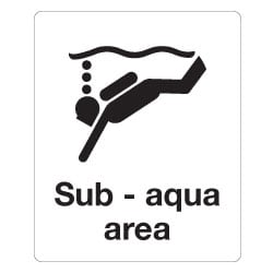 Sub-aqua area Sign