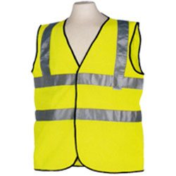 High Vis Yellow Waistcoat