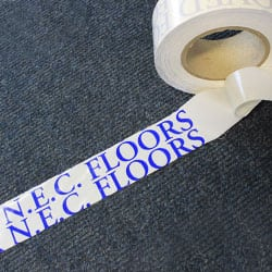 NEC Approved Double Sided Carpet Floor Tape