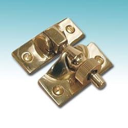 Solid Brass Brighton Sash Fastener 50mm