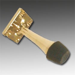 Polished Brass Projection Door Stop