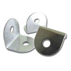 Zinc Plated Steel Bracket - Pack of 10
