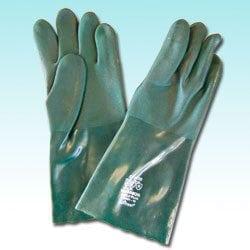 Green PVC Gauntlet