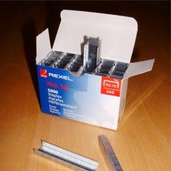 Rexel No. 16 Staples 6mm - Box of 5000