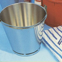 Hygiene Grade Stainless Steel Measuring Buckets - 10 Litres