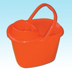 Plastic Mop Bucket - 15 Litres