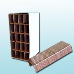 Carton staples - 2000 per box.