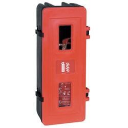 Single Storage Cabinet for Fire Extinguisher