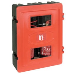 Double Storage Cabinet for Fire Extinguisher