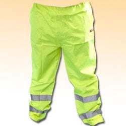 High Visibility Trousers - Yellow