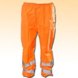 High Visibility Trousers - Orange