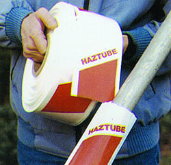 Haztube - Scaffold Warning Tape