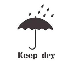 Stencil Keep Dry