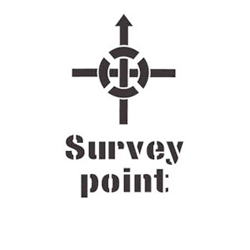 Stencil Survey Point