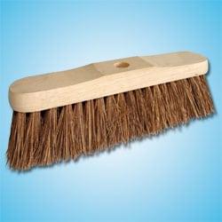 """Stiff Professional Broom Head 12"""""""