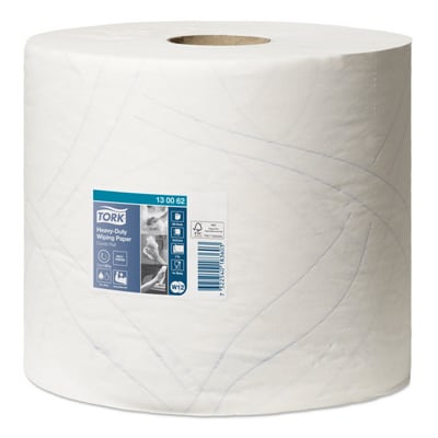 Tork® Multi Purpose Heavy Duty White Wiping Paper