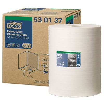 Tork® White Heavy-Duty Cleaning Cloth